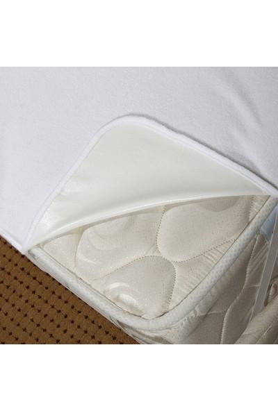 Akbez Tek Kişilik 90 x 200 Sıvı Geçirmez Nefes Alabilir Elastik Bantlı Yatak Alezi
