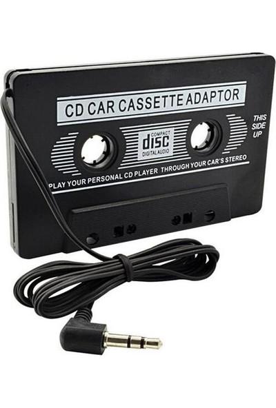 Techsmart Aux Kablolu Araç Teyp Kaset Adaptörü Mp3 Mp4 CD Çalar