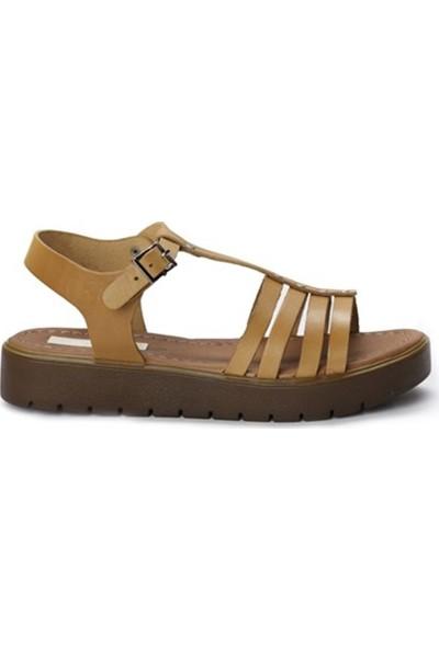 Charmia Kadın Hakiki Deri Günlük Sandalet