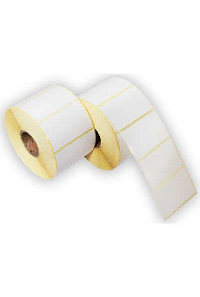 On Roll Paper Eko Termal Kağıt Barkod Etiketi 90 x 60 750'LI 12 Rulo