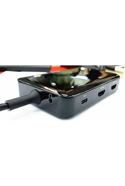 Mobitell Usb-C HDMI X2 VGA USB 3.0x2 Pd Sd RJ45 3.5 Audio Adaptör