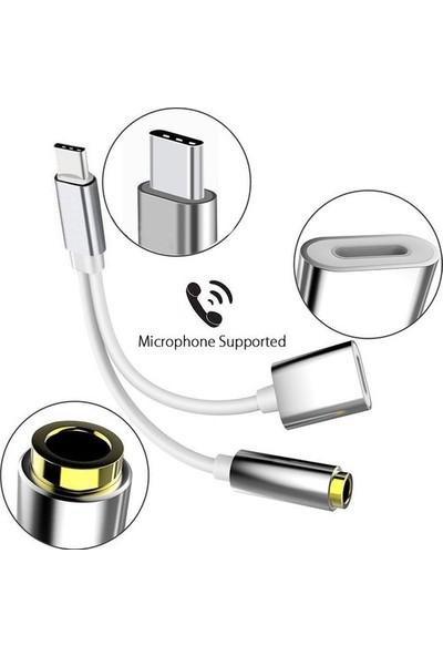Mobitell Type-C 3.5 mm Jack Aux Kulaklık Ses Dönüştürücü Adaptör