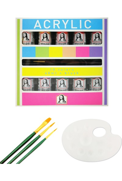Mona Lisa ML122 Set Fırçalı