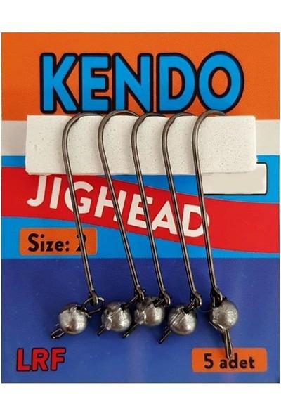 Kendo Hareketli Jig Head Uzun Pala Iğneli 3 gr