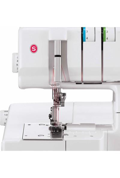 Singer 14 T 970C 4 İplik 4 Değişik Dikiş Reçme Makinesi