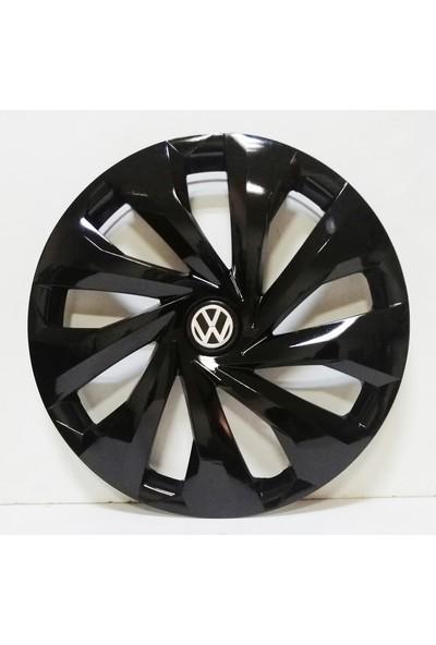 Çobanoğlu Volkswagen 15 Inç Piano Black Jant Kapağı 4 Adet + Amblem