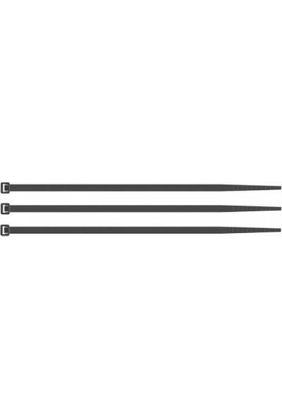 Coşafak Coşafak Plastik Kablo Bağı - Cırt Kelepçe Siyah 370Mm X 3,6Mm 100 Adet