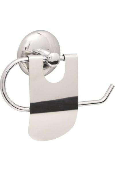 Fixer365 Dar Kapak Kağıtlıklı Banyo Aksesuar Seti 3'Lü