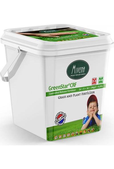 Gürçim Mivena Greenstar® Crf 24-5-10 + 2 Mgo + 0,5 Fe Çim Ve Bitki Bakım Gübresi
