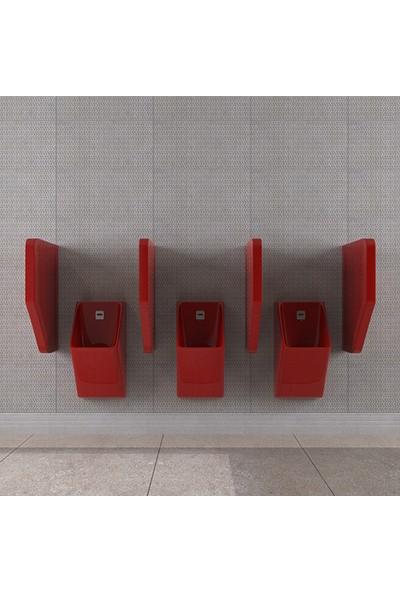 Lucco Loop 45 Cm Pisuvar Ara Bölme Kırmızı