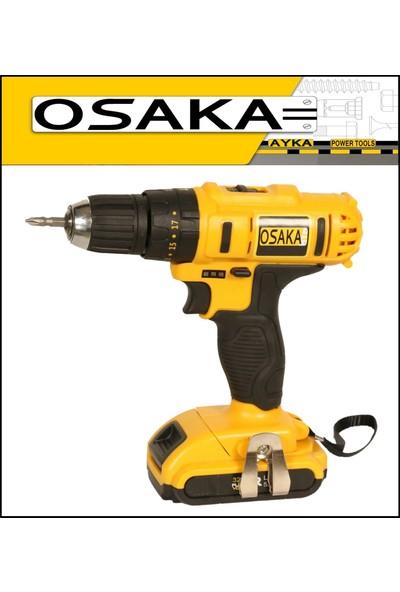 Osaka 32 Volt 5.0 Amper Darbeli Çift Akülü Şarjlı Vidalama Matkap