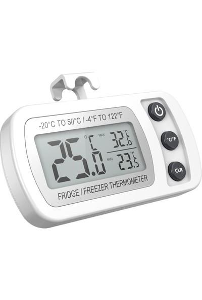 Weather Forecast Wf Buzdolabı Askılı Büyük Rakam Termometre Sıcaklık Ölçer Thr341B
