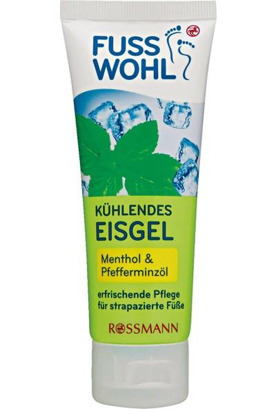 Rossmann Fuss Wohl Serinletici Jel Mentol ve Nane Yağı 75 ml