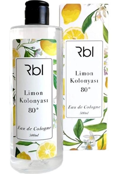 Rebul Limon Kolonyası 80 Eau De Cologne 500 ml