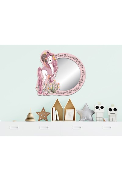 Popcorn Kids Prenses Unıcorn Ayna