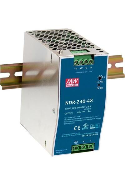 Mean Well SA-NDR-240-48 240-48 Ray Tipi Ac/dc Power Supply