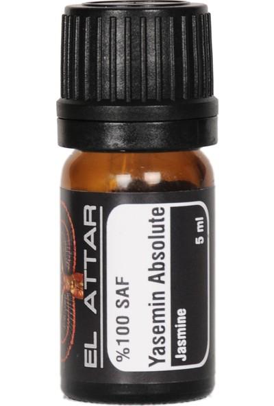 El Attar Yasemin Çiçeği (Yasemin Absolute) 5 mL ( Esansiyel Uçucu ve Parfüm Yapımı İçin de Uygundur)