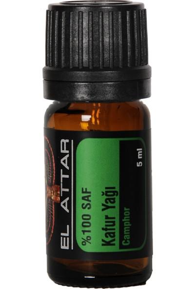 El Attar Spaın %100 Saf ve %100 Doğal Kafur Yağı (Parfüm Yapımı Için De Uygun Esansiyel ve Uçucu)