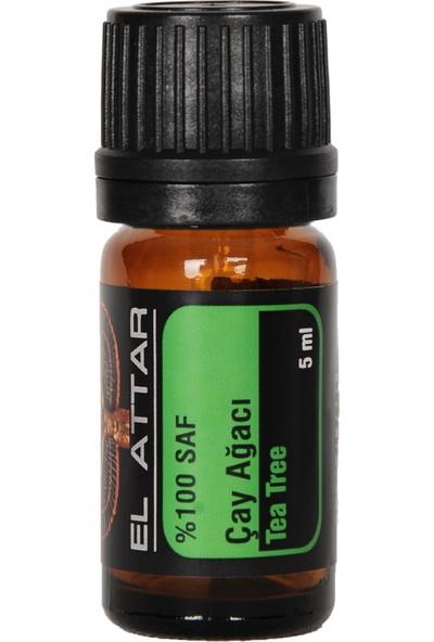 El Attar Spaın %100 Saf ve %100 Doğal Çay Ağacı Yağı (Parfüm Yapımı Için De Uygun Esansiyel ve Uçucu)