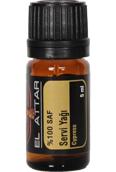 El Attar Spaın %100 Saf ve %100 Doğal Selvi (Servi) Yağı (Parfüm Yapımı Için De Uygun Esansiyel ve Uçucu)