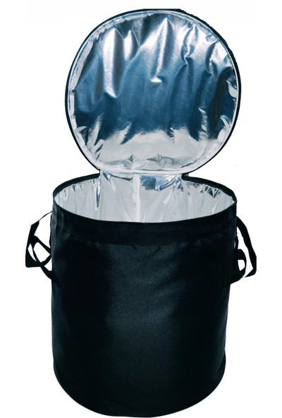 Eziva Home Kamp - Piknik Bagaj Buzluk Çantası 50 lt Siyah