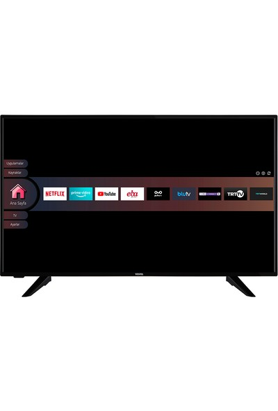 Vestel 50U9400 50'' 126 Ekran Uydu Alıcılı 4K Ultra HD Smart LED TV