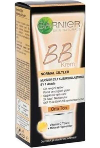 Garnier Bb Krem Mucizevi Cilt Kusursuzlaştırıcı Orta Ton 18 ml