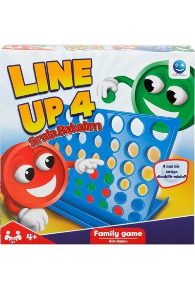Smile Games Line Up 4 Kutu Oyunu