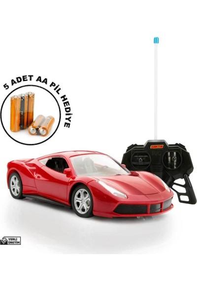 Suncon 1:20 Uzaktan Kumandalı Oyuncak Spor Araba Metalik