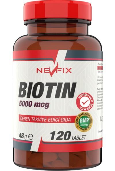 Biotin 5000 Mcg 120 Tablet