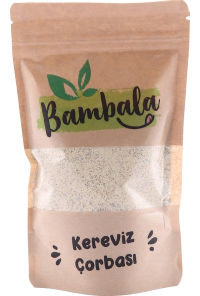 Bambala Kereviz Çorbası