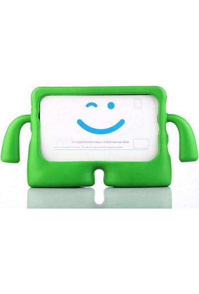 Case Street Samsung Galaxy Tab A T580 Kılıf iBuy Tablet Oyun Silikonu Yeşil