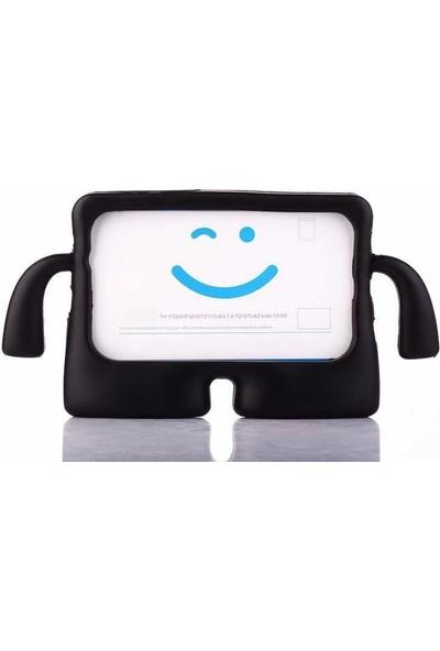 Case Street Samsung Galaxy Tab 4 T280 Kılıf iBuy Tablet Oyun Silikonu Siyah