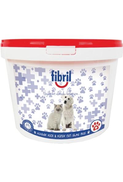 Fibril Köpek Pati Altı Temizleme Mendili Kova Tipi