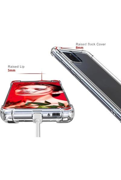 Case Street Samsung Galaxy Note 10 Lite A81 Kılıf Antishock Ultra Koruma Sert Kapak Renksiz