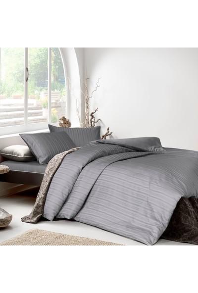 Yataş Bedding Raso Saten Nevresim Takımı (Çift Kişilik Xl) - Gri
