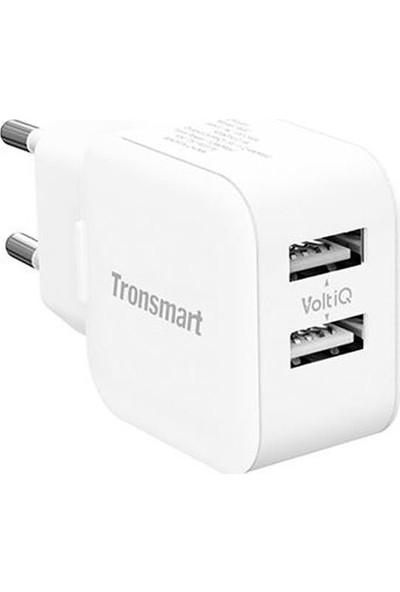 Tronsmart W02 2 Portlu Voltiq 2.4A Hızlı Şarj Cihazı