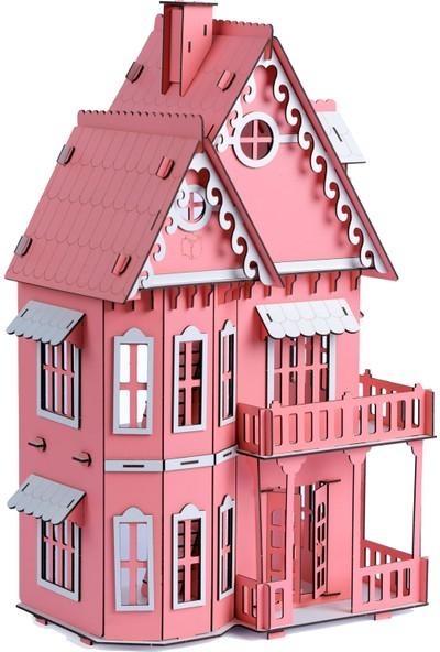 Pershang Ahşap Eşyalı Villa Ev 3 Boyutlu Yapboz