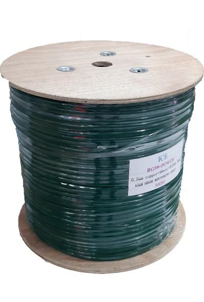 Ice Cctv Video Koaksiyel RG59 Kablo - 300M
