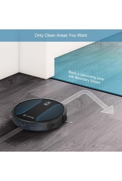 Coredy R500 Robot Süpürge Halı Zeminini Sertleştirir