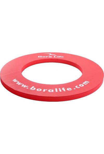 Boralife Dart Hedef Tahtası Kırmızı Surround