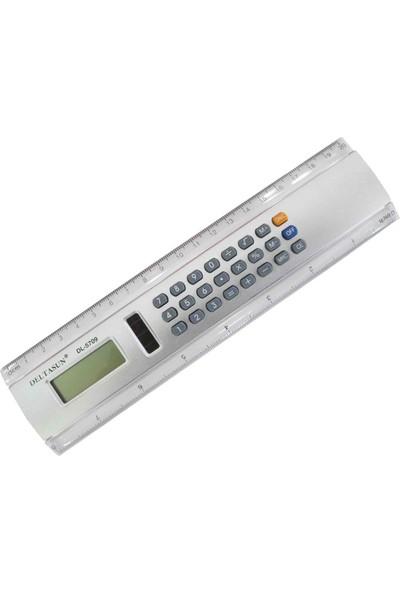 Deltasun DL-5709 Cetvellı Hesap Makinesi