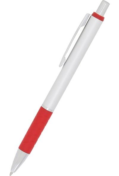 Mıkro 420 Gümüş Gövde Metal Tükenmez Kalem