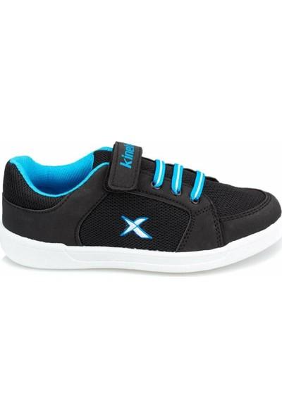 Kinetix Lenko Siyah-Mavi Erkek Çocuk Günlük Spor Ayakkabı