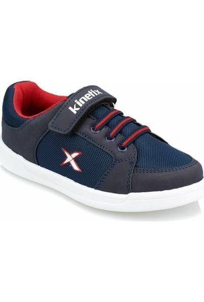 Kinetix Lenko Lacivert-Kırmızı Erkek Çocuk Günlük Spor Ayakkabı