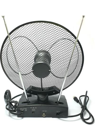 Güven GVN101 Tv Üstü Yükselteçli Karasal Anten