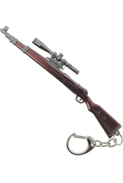 Pubg Metal Mor Keskin Nişancı Tüfeği Anahtarlık
