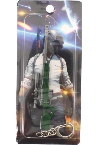 Pubg Metal Yeşil Keskin Nişancı Tüfeği Anahtarlık