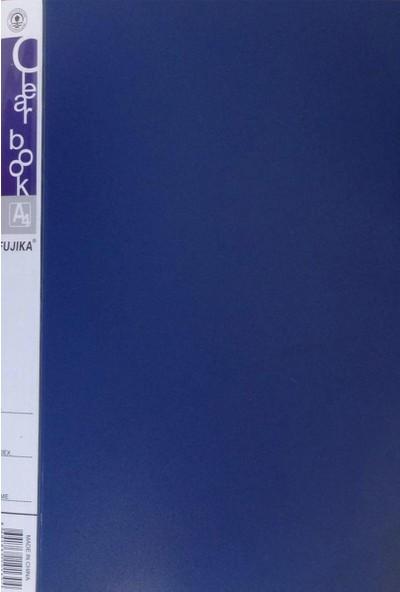 """Fujıka A4 Sunum Dosyası 20""""li Mavi"""