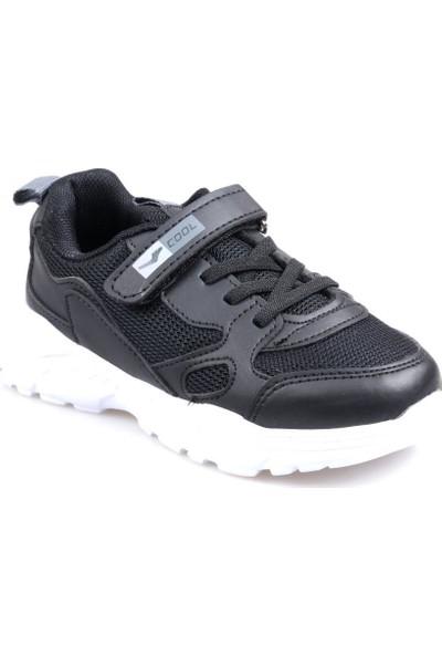 Cool 20-S06 Siyah Erkek Çocuk Günlük Spor Ayakkabı